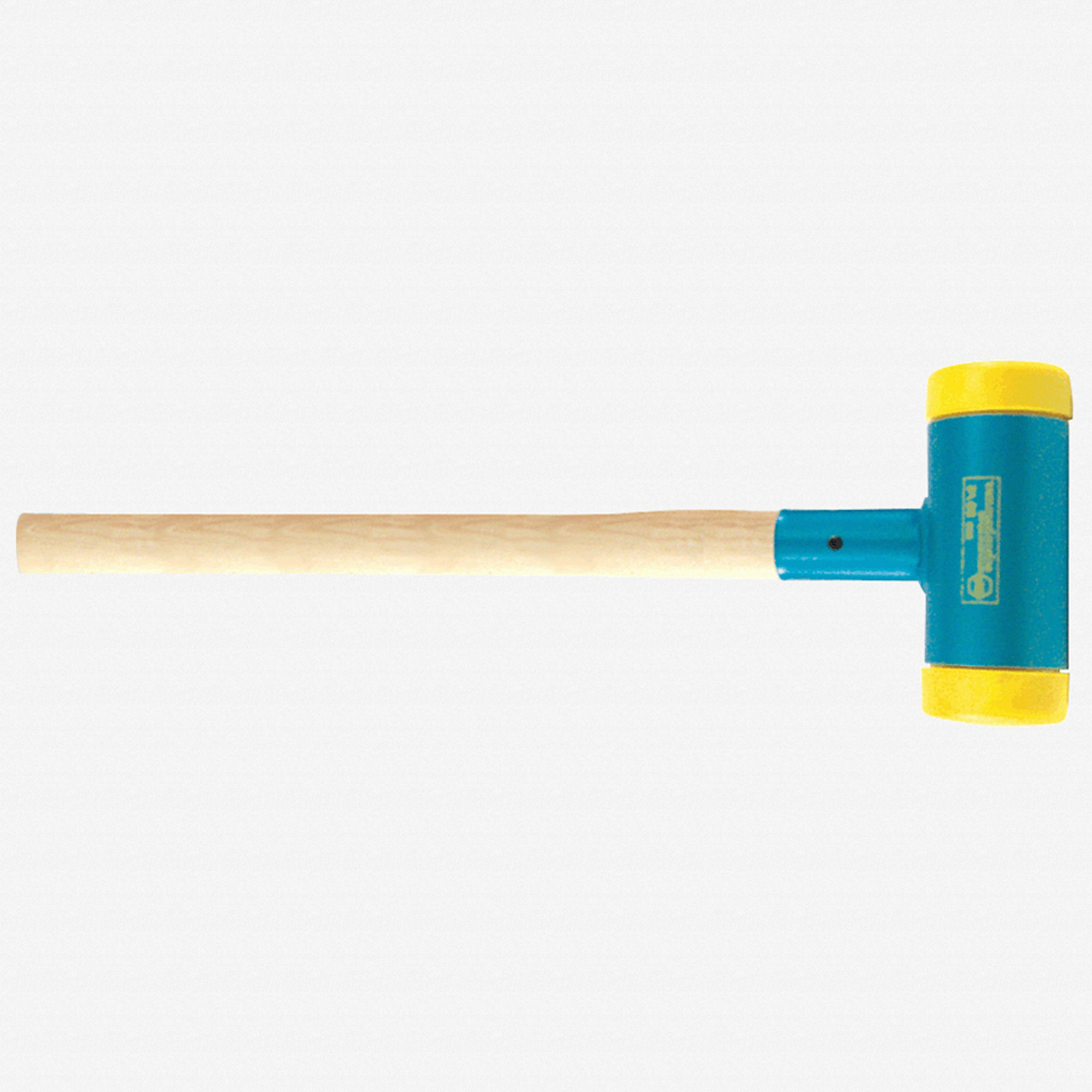 Wiha 80299 Dead Blow Hammer 3 9 Face X 15 1 Lbs deadblow steel shot filled head adds extra force to hammer blows and eliminates rebound & spark, ideal for auto body work. wiha 80299 15 1 lbs dead blow sledge hammer