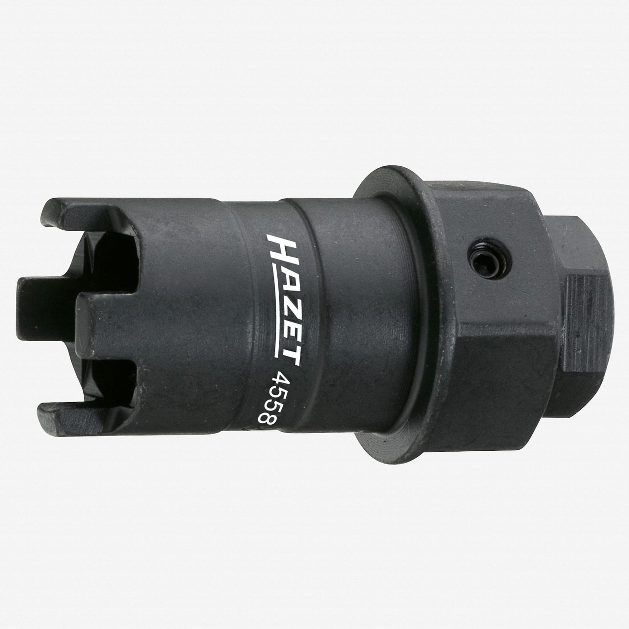 Hazet 4558 Pressure nut crown wrench