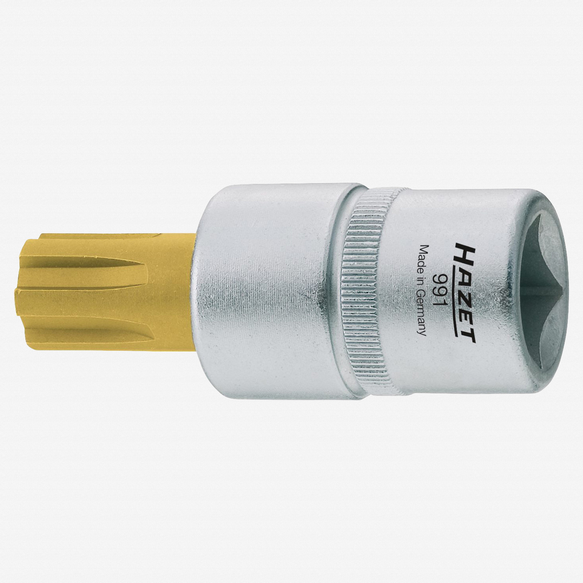 Hazet 991-8 M8 Ribe TiN Socket 1//2/""