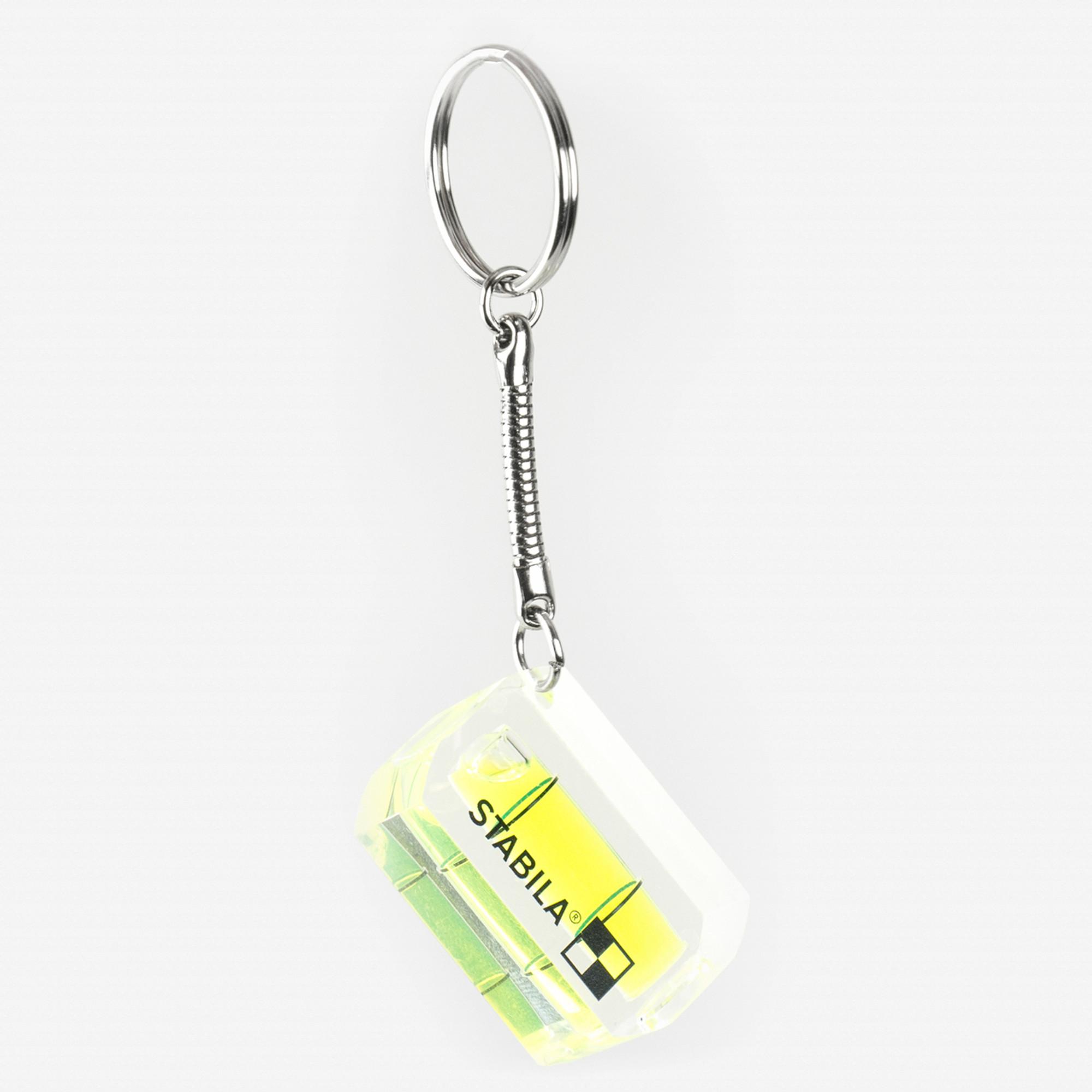 5 x Stabila key ring key chain level spirit level