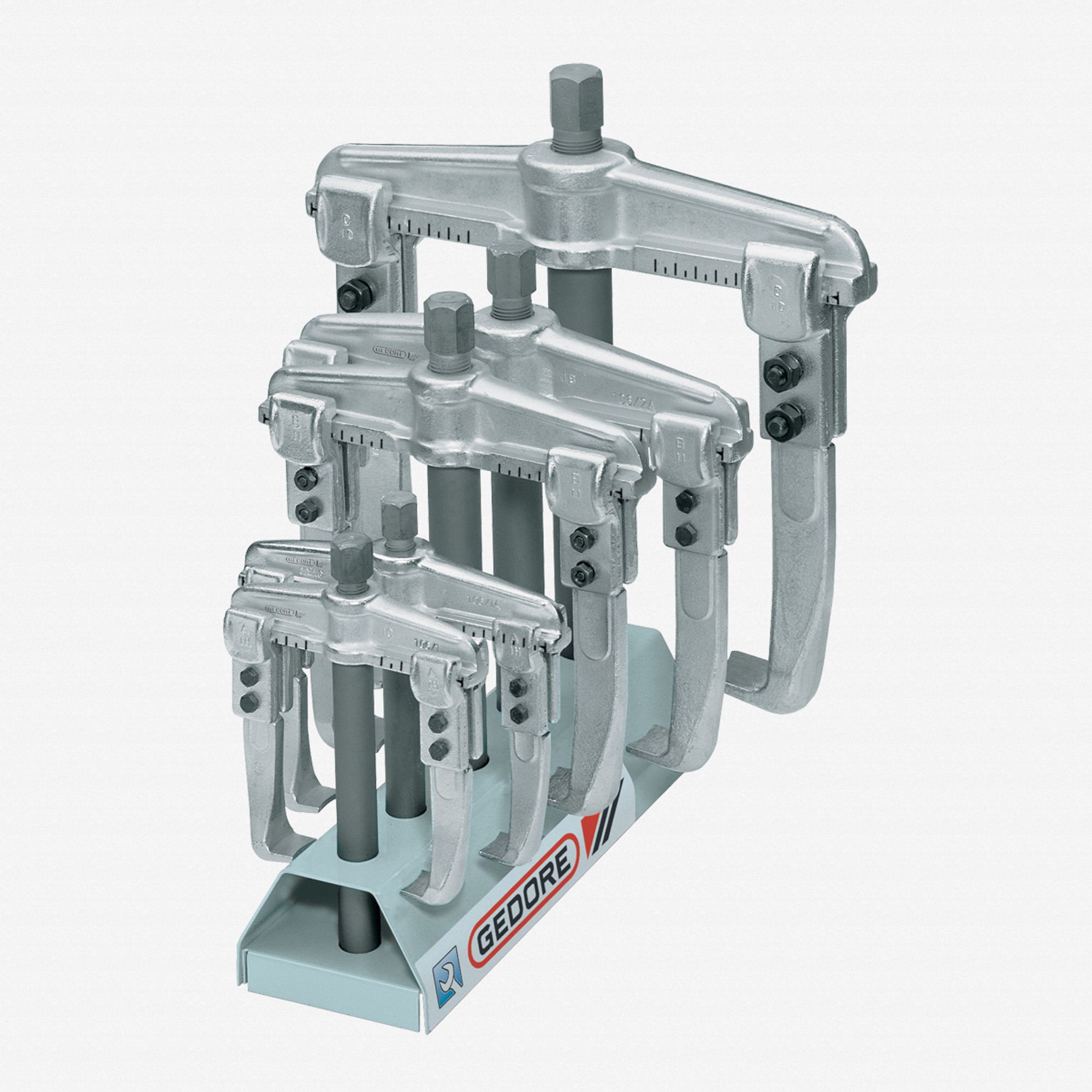 GEDORE 1.06//ST Puller Set with Display Stand 1.06//1-1.06//3