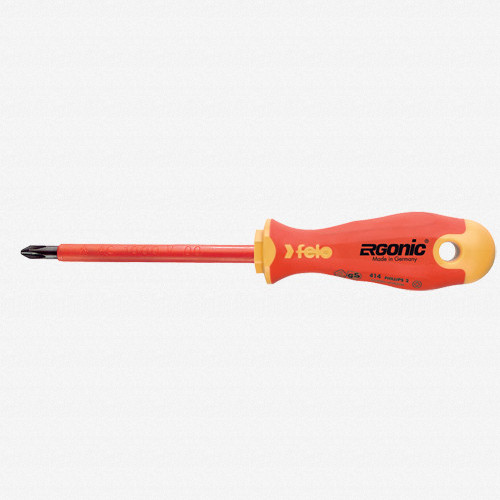 Felo 53155 Ergonic Insulated #2 x 100mm Phillips Screwdriver - KC Tool