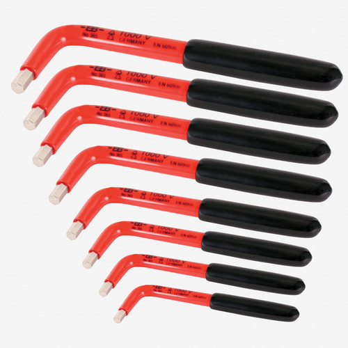 Wiha 13690 8 Piece Insulated SAE Hex L-Key Set - KC Tool