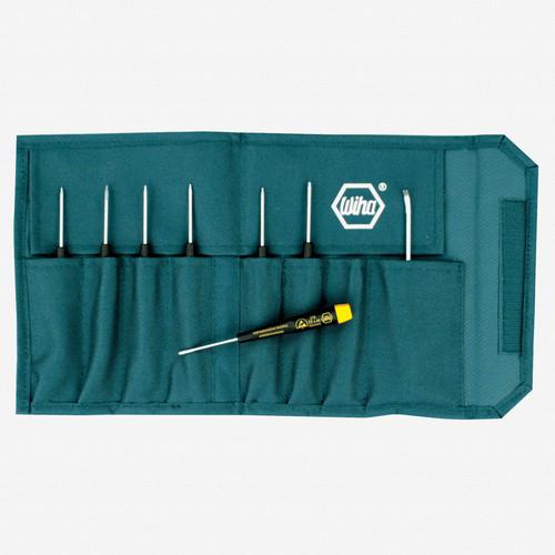 Wiha 27899 8 Piece Precision ESD Safe Torx Pouch Set - KC Tool