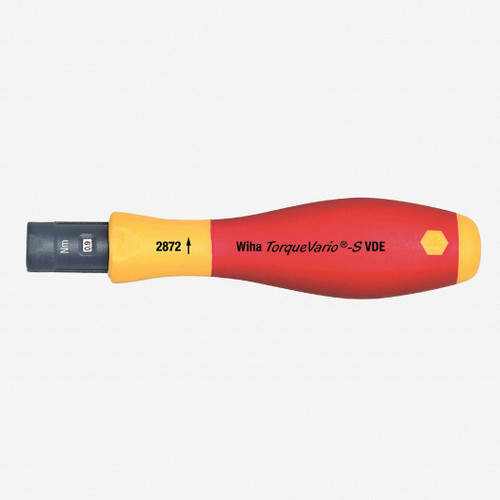 Wiha 28727 20 - 70 in-lbs Insulated Torque Screwdriver - KC Tool