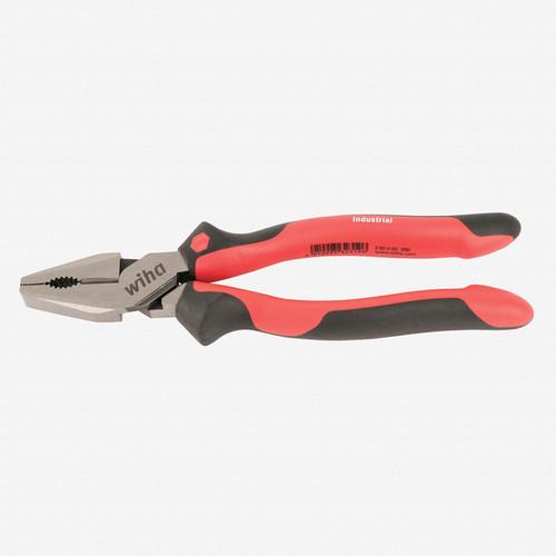 "Wiha 30907 8"" Heavy Duty Combo Pliers - Industrial SoftGrip - KC Tool"