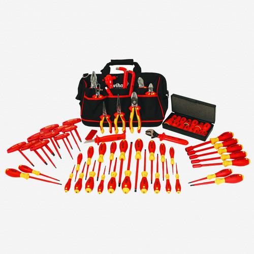 Wiha 32876 66 Piece Insulated Pliers/Driver Tool Bag