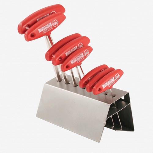 Wiha 33488 8 Piece Hex Metric T-handle Rack Set - KC Tool