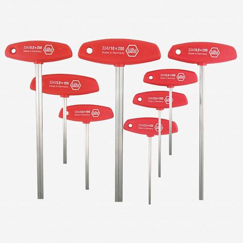 Wiha 33493 8 Piece Hex Metric T-handle Set - KC Tool