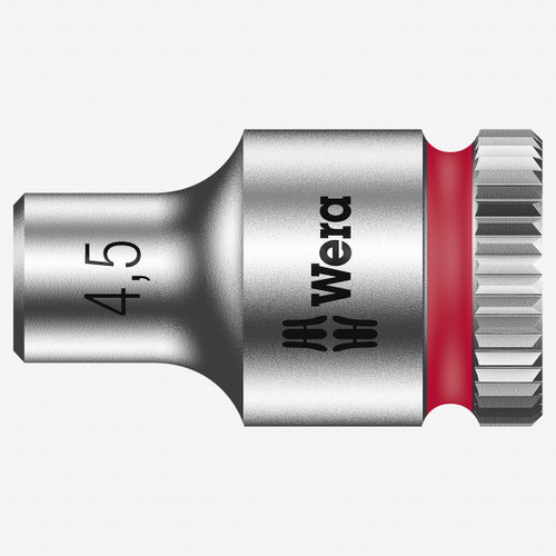 "Wera 003502 4.5 x 1/4"" Zyklop Socket - KC Tool"