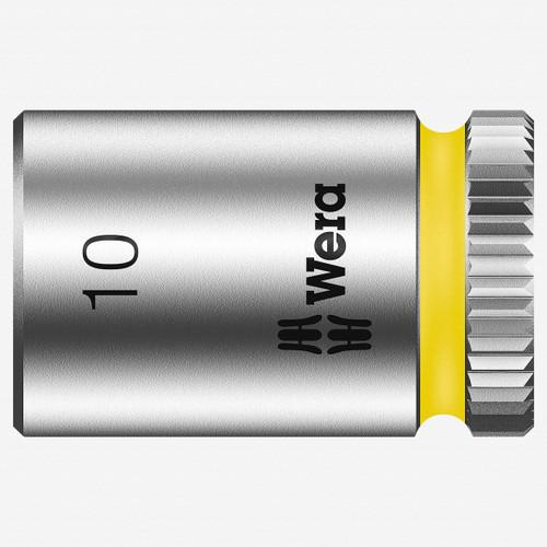 "Wera 003509 10 x 1/4"" Zyklop Socket - KC Tool"