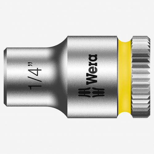 "Wera 003516 1/4"" x 1/4"" Zyklop Socket - KC Tool"
