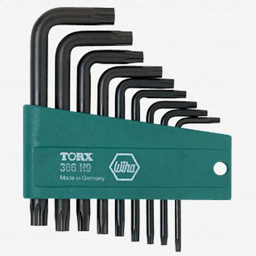 Wiha 36393 9 Piece Security Torx L-Key Set - KC Tool