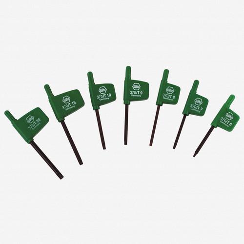 Wiha 37091 7 Piece Torx Flag Handle Set - KC Tool