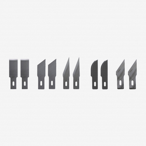 Wiha 43097 Assorted Blades for Univ Scraper 10Pk - KC Tool