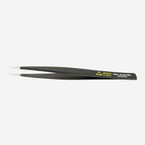 Wiha 44501 Universal Fine Point AA SA  - 130mm Tweezers - KC Tool