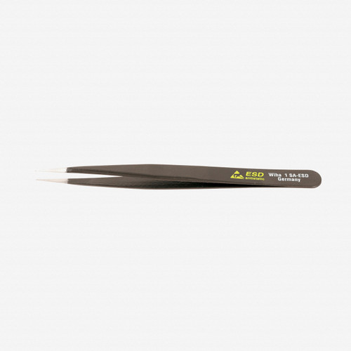 Wiha 44531 General Purpose Fine Point 1 SA  - 120mm Tweezers - KC Tool