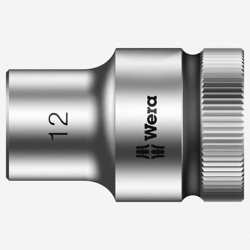 "Wera 003603 12 x 1/2"" Zyklop Socket - KC Tool"