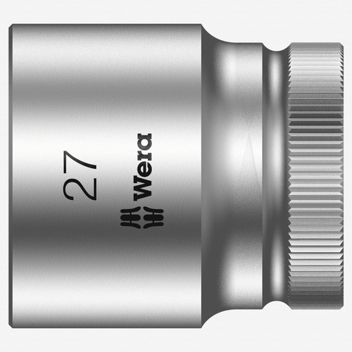"Wera 003615 27 x 1/2"" Zyklop Socket - KC Tool"