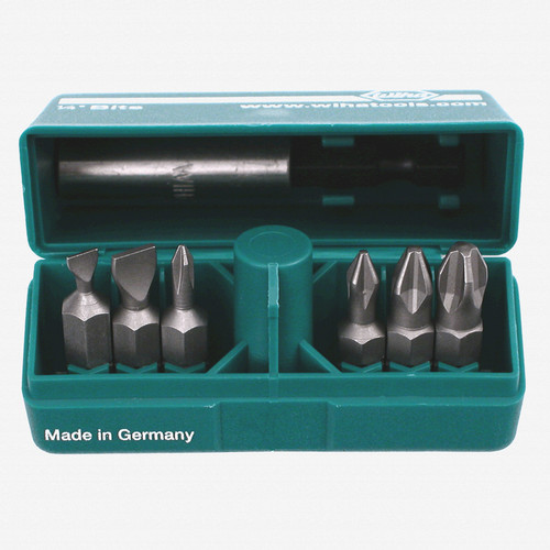 Wiha 71198 7 Piece Slotted/Phillips Pocket Pack - KC Tool