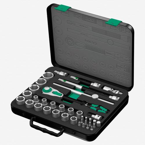 "Wera 003645 Zyklop Rachet Premium 1/2"" Drive Metric Set - KC Tool"