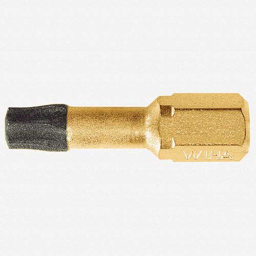 Wiha 71580 T25 x 25mm Torx Dura Insert Bit - KC Tool