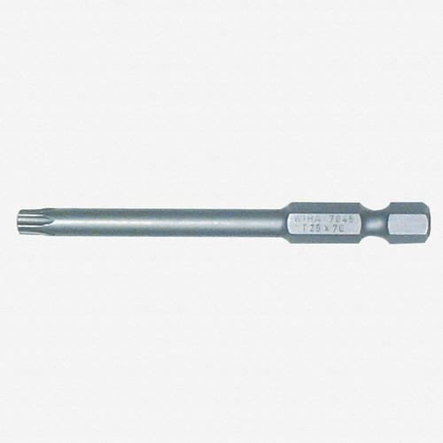 Wiha 74542 T8 x 70mm Torx Power Bit - KC Tool
