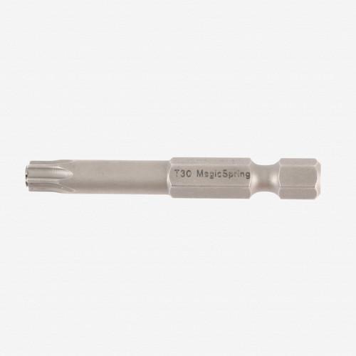 Wiha 74557 T25 x 50mm MagicSpring Torx Power Bit (2 Pack) - KC Tool