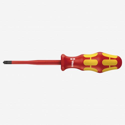 Wera 006466 PZ/S #2 x 100mm VDE Insulated PlusMinus Slim Screwdriver - KC Tool