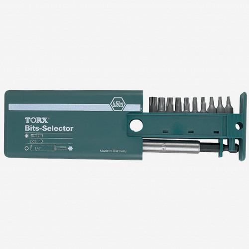 Wiha 79247 10 Piece Security Torx Bit Selector - KC Tool