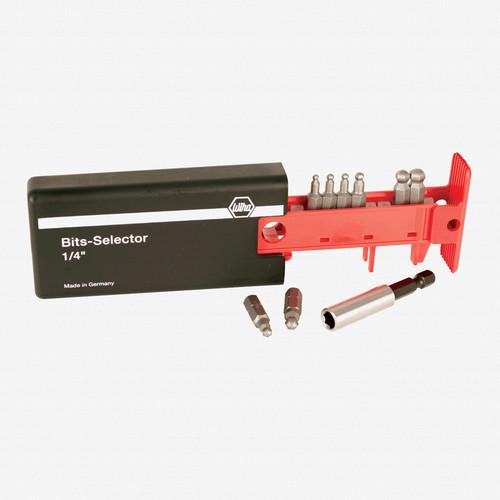 Wiha 79276 8 Piece Ball End Hex SAE Bit Selector - KC Tool