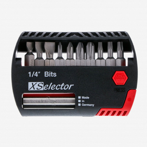 Wiha 79443 10 Piece Slotted/Phillips/Torx XSelector Bit Set - KC Tool