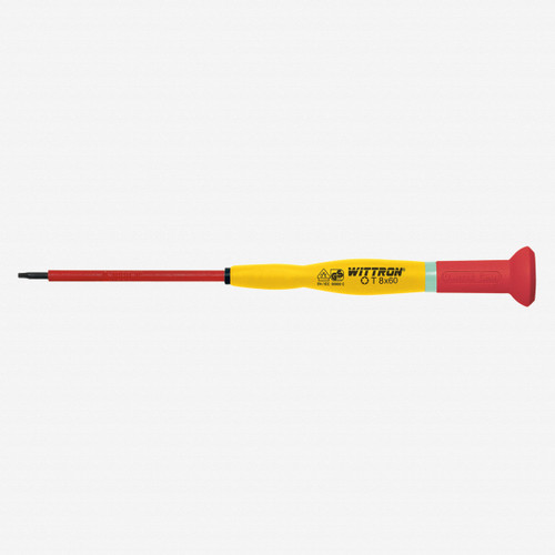 Witte 89927 T15 x 75mm Wittron Precision Insulated Torx Screwdriver - KC Tool