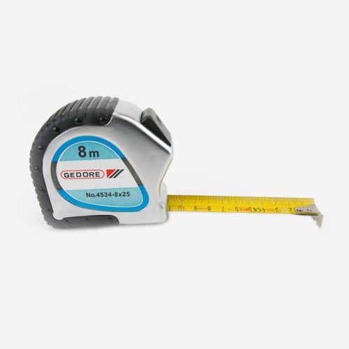 Gedore 4534-8 Steel tape measure 8 m - KC Tool