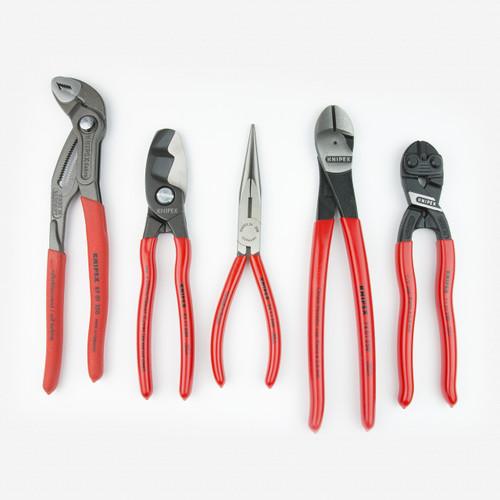 Knipex 9K-00-80-108-US 5 Piece Automotive Pliers Set - KC Tool