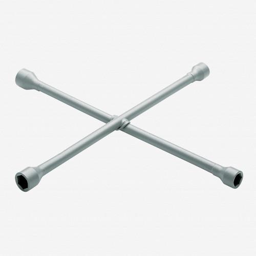 """Gedore 28 PU 4-way wheel wrench 17x19x21x11/16"""", 420x420 mm - KC Tool"""