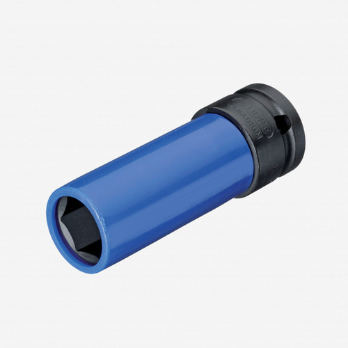 """Gedore K 19 LS 17 Impact socket 1/2"""" with protective sleeve, 17 mm - KC Tool"""