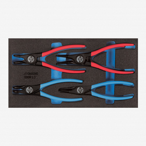 Gedore 1500 CT1-8000 Circlip pliers in 1/3 CT module - KC Tool