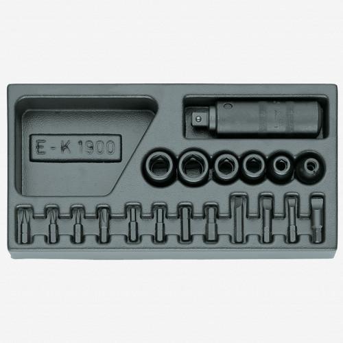 Gedore 1500 ES-K 1900 Impact driver set in 1/3 ES tool module - KC Tool