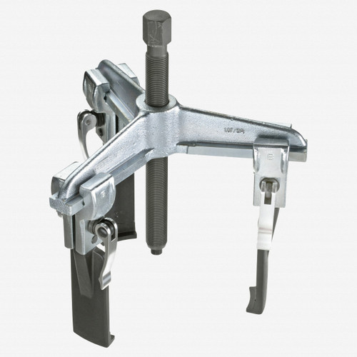 Gedore 1.07/S1A-E Quick-release puller, 3-arm pattern, with slim legs 90x100 mm - KC Tool