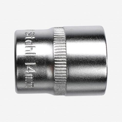 "Felo 61697 6 Point 1/4"" Socket - 7mm - KC Tool"