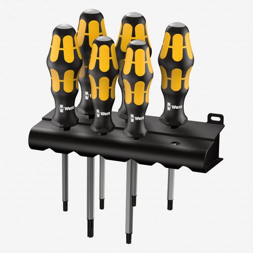 Wera 024410 Kraftform Plus Torx Screwdriver Set + Rack - KC Tool