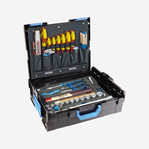 Gedore 1100-01 GEDORE-Sortimo L-BOXX 136 with assortment Mechanic, 58-pc - KC Tool