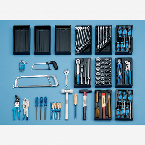 Gedore S 1400 G Universal tool assortment 100 pcs - KC Tool