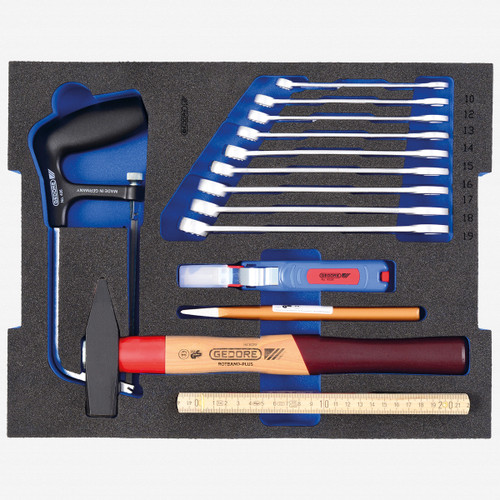 Gedore 1100 CT2-BASIC Tool assortment STARTER in 2/2 L-BOXX 136 Module - KC Tool