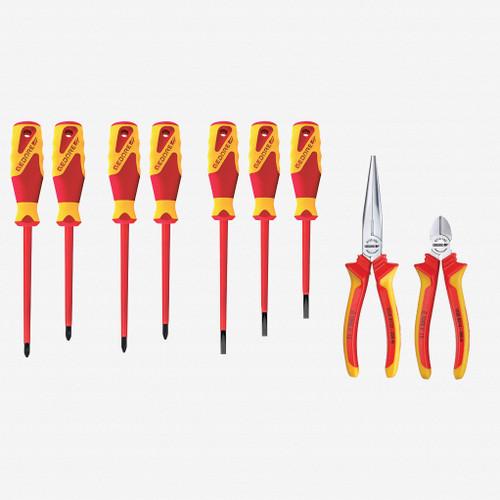 Gedore S 1100 W-002 VDE Pliers/screwdriver VDE assortment - KC Tool