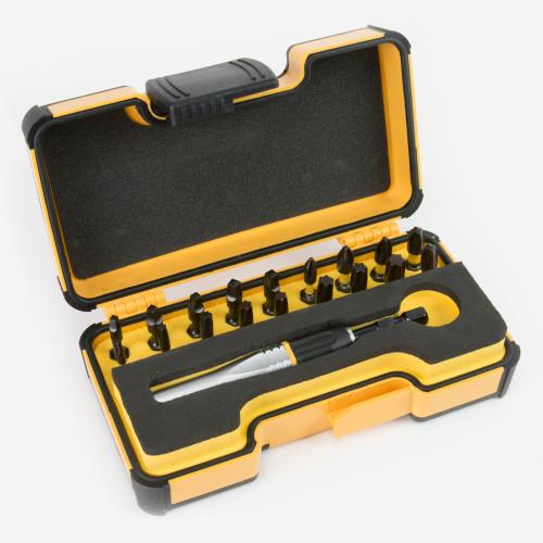 Felo 63599 Impact 19 SQ Bit Set in Box - PH/SQ/TX, 19 Pieces - KC Tool