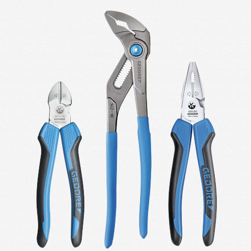 Gedore S 8393 3 Piece Pliers Set - KC Tool