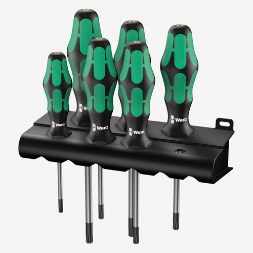 Wera 028059 Kraftform Plus Torx HF Screwdriver Set + Rack - KC Tool