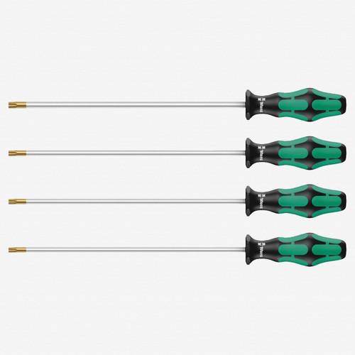 Wera 028074 Kraftform Plus Torx HF Extra Long Screwdriver Set - KC Tool